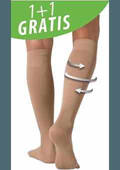 Biofir Steunkousen actie per 2 paar-Huidskleur-38-43