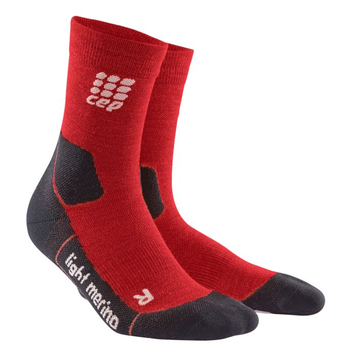 CEP Outdoor Light mid-cut sock