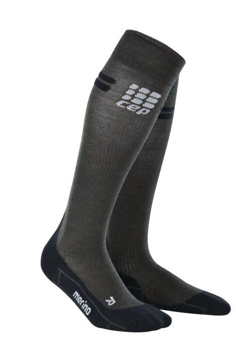 CEP Merino Riding Compression Socks